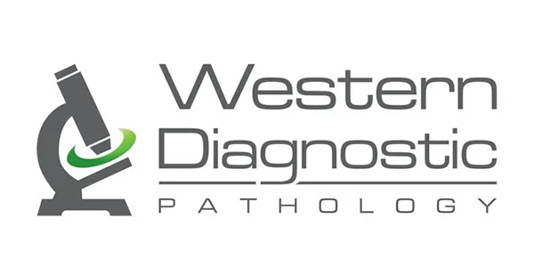 Western Diagnostic Logo White